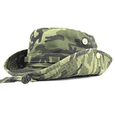 Packable Camo Fishing Hat