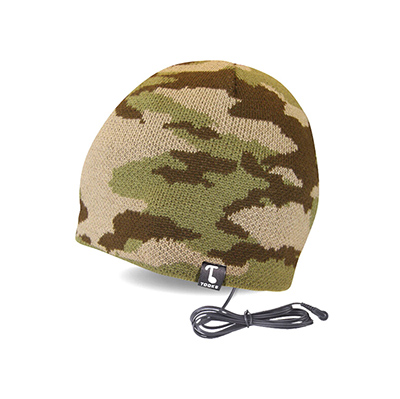 Camo Knitted Music Beanie